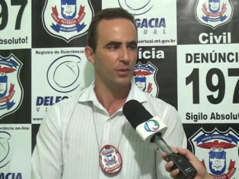 Polícia Civil prende suspeito de onda de furtos em Confresa