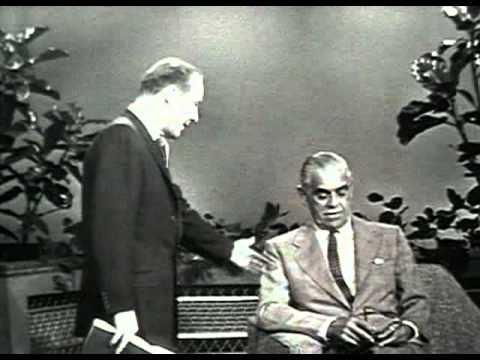 Boris Karloff - This Is Your Life (1957) complete version