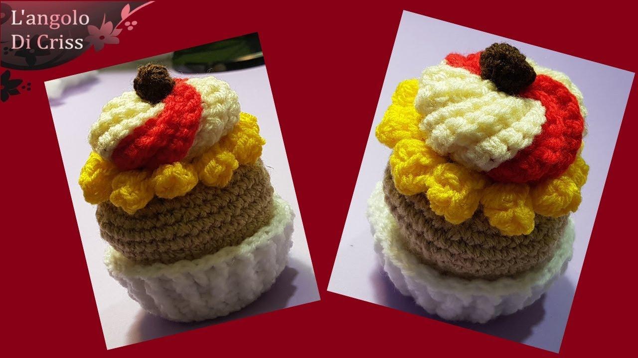 Tutorial Cupcake Alluncinetto Cupcake Collab Amigurumi Facile