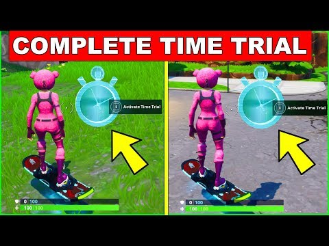 Complete A Time Trial East Of Pleasant Park Or South West Of Salty Springs – LOCATION FORTNITE