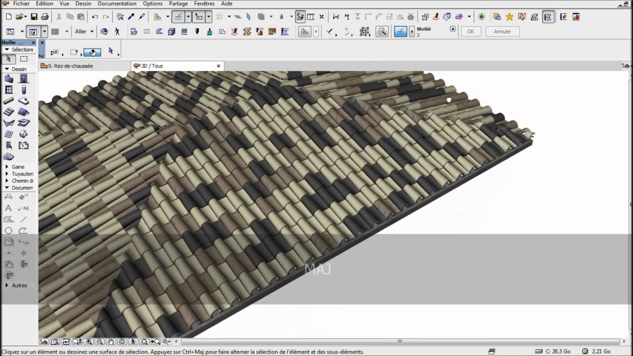 archicad accessoires toiture youtube