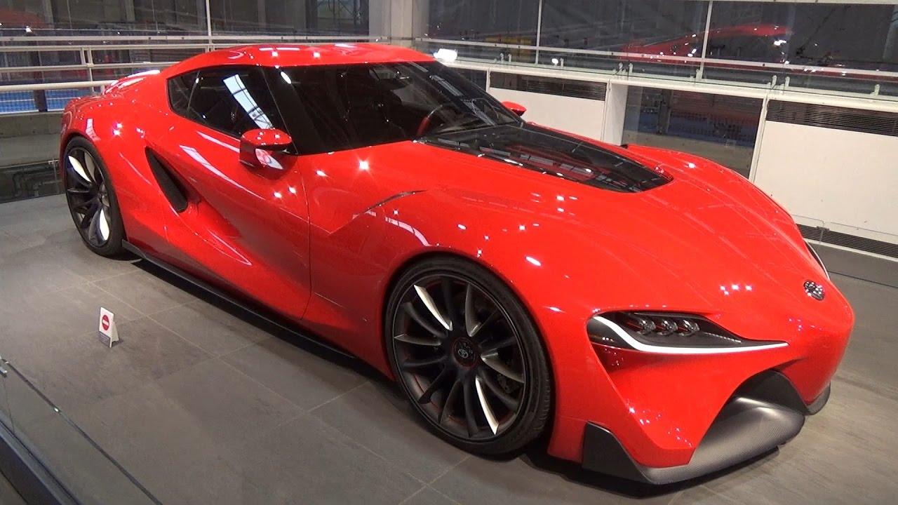 新型スープラ? トヨタ FT,1 コンセプトカー メガウエブ