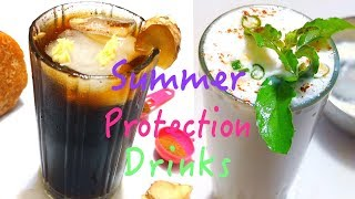 Summer Protection Drinks |Healthy Cold Drink |Gur Ka Sharbat | Chhachh | By Wow Healthy Desi Food#