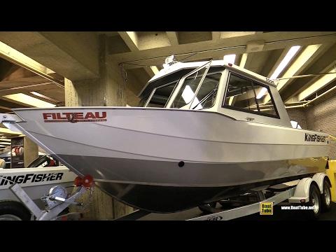 2017 King Fisher Aluminium Boat - Walkaround - 2017 Montreal Boat Show