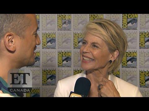 Linda Hamilton On Reuniting With Arnold Schwarzenegger In 'Terminator: Dark Fate'