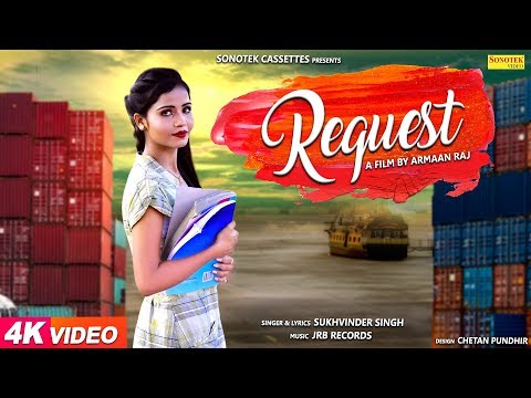 Request | Armaan Raj | Hina Khan | Prashant Dhama | New #Haryanvi DJ Song 2018 | Sonotek