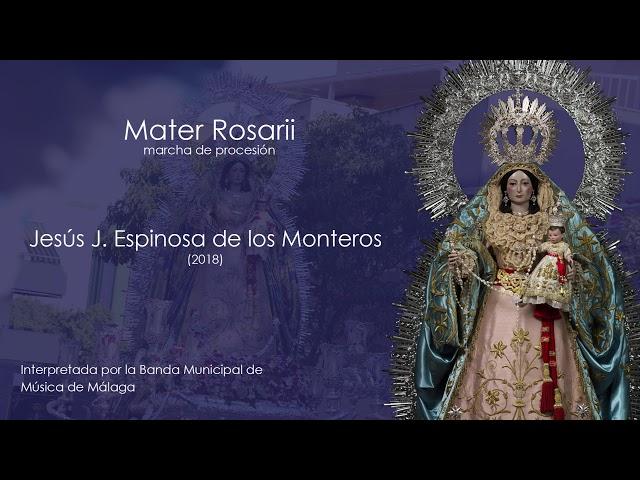 Mater Rosarii (Jesús J. Espinosa de los Monteros)