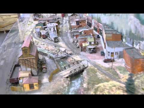 Amazing Model Train Set