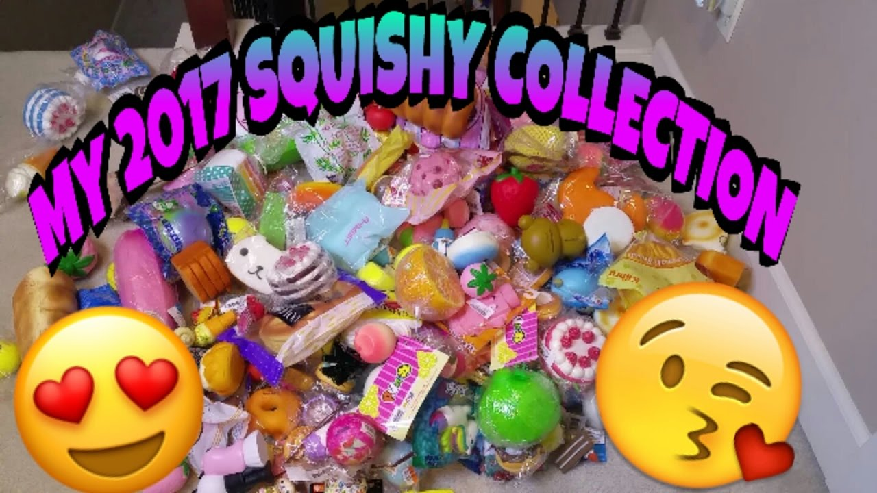 Squishy Collection Naura : SQUISHY COLLECTION 2017 ~ COLLAB WITH SQUISHIES OMG ~ - YouTube