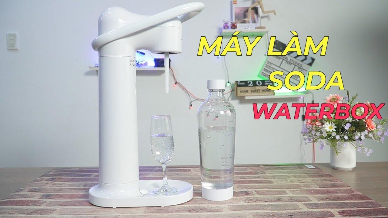 Máy Làm Soda WATERBOX – Từ Nay Muốn Uống Nước Có Gas Chỉ Cần 3 Giây Thôi