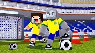 2 TROTTEL SPIELEN FUßBALL! - Minecraft [Deutsch/HD]