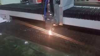 12 mm carbon steel fiber 1000w IPG laser cutting machine