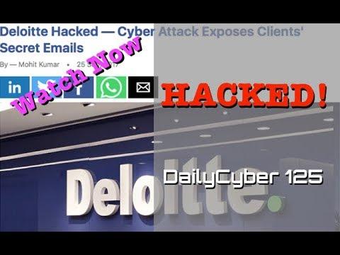Deloitte Hacked | DailyCyber 125