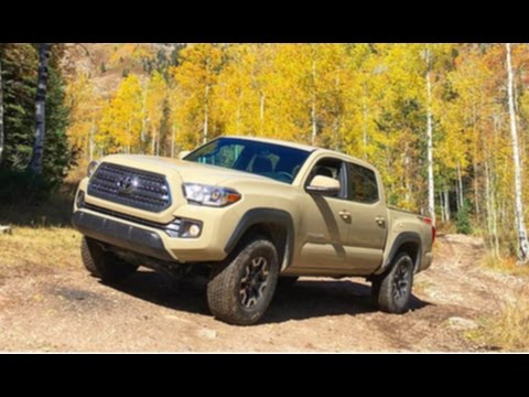 2017 toyota tacoma trd off road 4x4 quicksand youtube. Black Bedroom Furniture Sets. Home Design Ideas