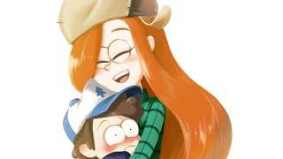 Диппер и Венди любовь