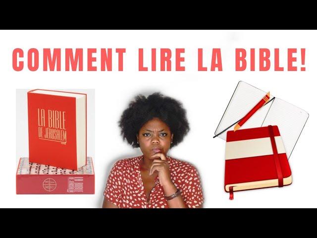 Comment lire la #Bible !   #GrâceNo