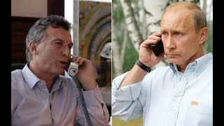 Rusia Pretende Apoderarse de Argentina para Poder Invadir Chile, Peru y Colombia