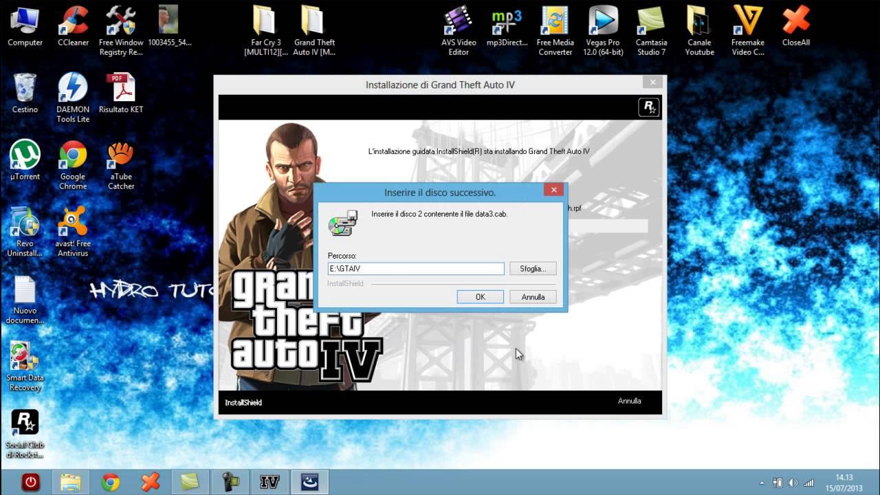 SCARICA E INSTALLARE GTA 5 PER PC ITA