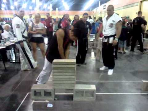 2011 US Open lightweight power concrete: Ryan Gilroy
