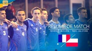 Résumé de match   France - Pologne   28.10.2016