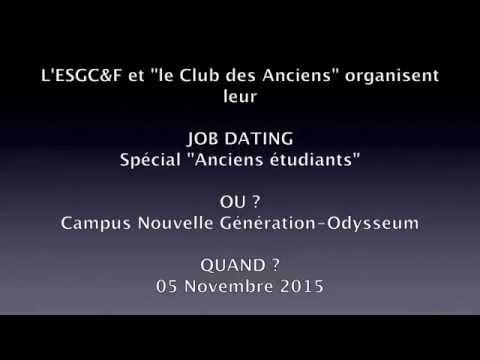 Job Dating - un événement du CADEC & de lESGC&F Montpellier
