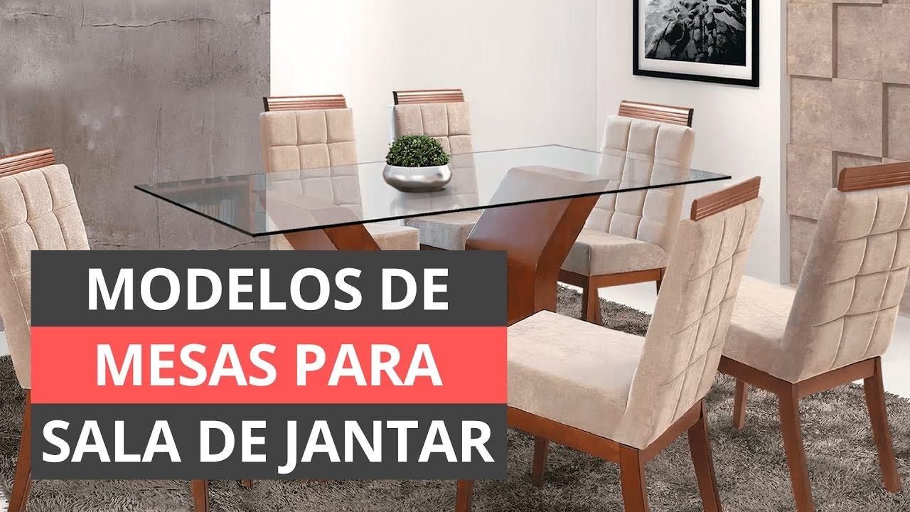 Tipos De Mesa Para Sala De Jantar Modelos Incríveis Youtube