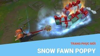 Liên Minh Huyền Thoại: Trang phục mới Snow Fawn Poppy