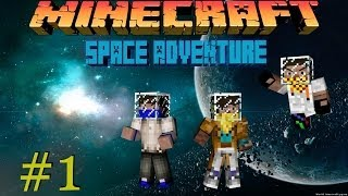 Minecraft LP: Space Adventure - #1 - Шахты, зомби!