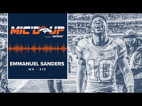 Mic'd Up: Emmanuel Sanders in #PITvsDEN