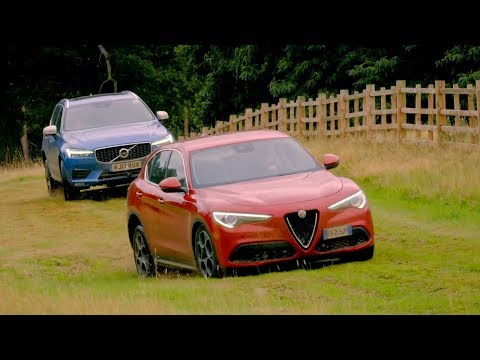 Alfa Romeo Stelvio vs Volvo XC60   Top Gear: Series 25