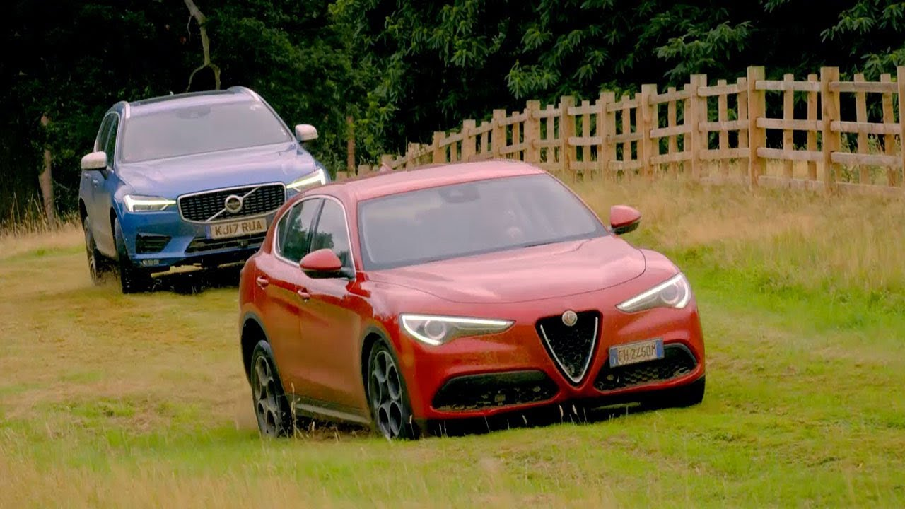 Alfa Romeo Stelvio Vs Volvo Xc60 Top Gear Series 25 Youtube