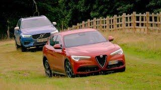 Alfa Romeo Stelvio vs Volvo XC60 | Top Gear: Series 25