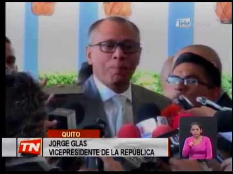 Vicepresidente Glas compareció a fiscalía por caso Odebrecht