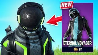 New Eternal Voyager Skin Gameplay - Space Explorers Set! (Fortnite Battle Royale)