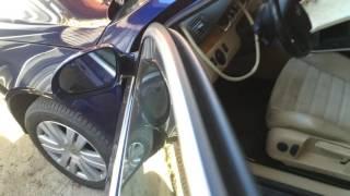 Чистим дренаж люка на Фольксваген Пассат Б6  2007 года  Volkswagen Passat B6