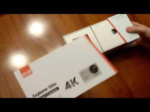 unboxing Elephone EleCam Explorer Elite 4K Action Camera