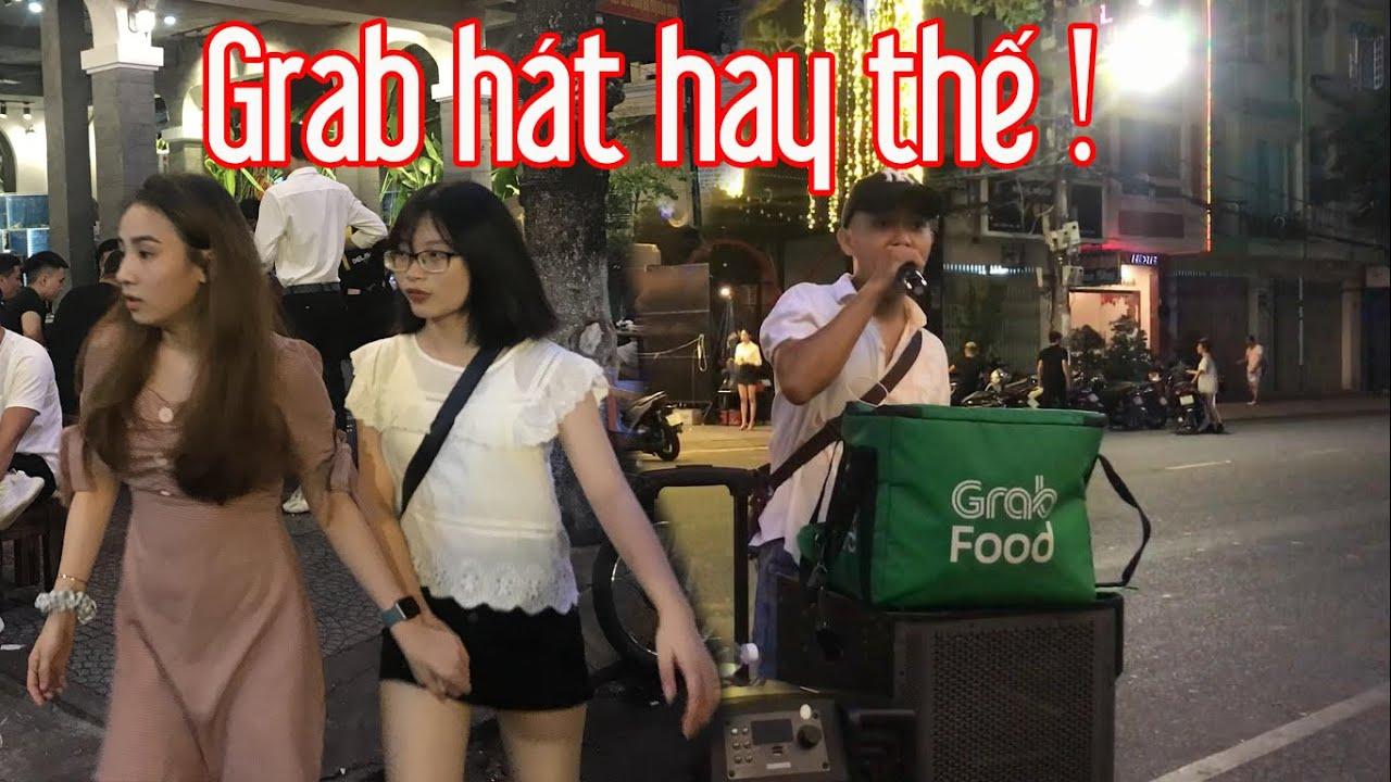 Tội cho cô gái đó - Khắc Việt | Grab cover đường phố thuyết phục cả quán nhậu