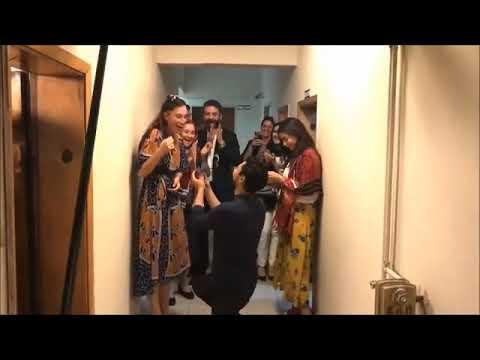 Sen Anlat Karadeniz Setinde Evlilik Teklifi !!! #özelvideo