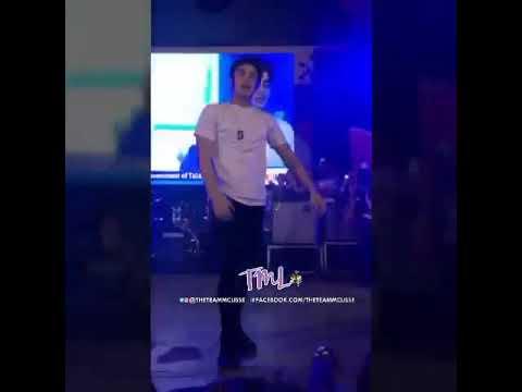 McCoy De Leon at the 18th Minuluan Festival Talisay City, Negros Occidental - September 10, 2017