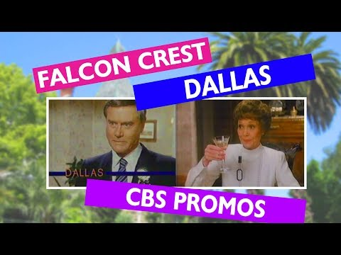 Dallas & Falcon Crest CBS Promos Season 1984  - 1985