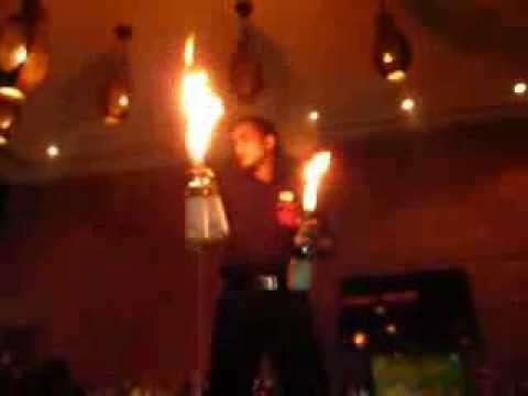 Fire Juggling at i-Bar @ The Park Hotel, Bangalore, India