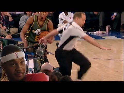 Knicks FULL GAME Highlights vs Jazz (1/20/16) NY Survives OT Despite Refs + 1 Ref Busted His Ass!
