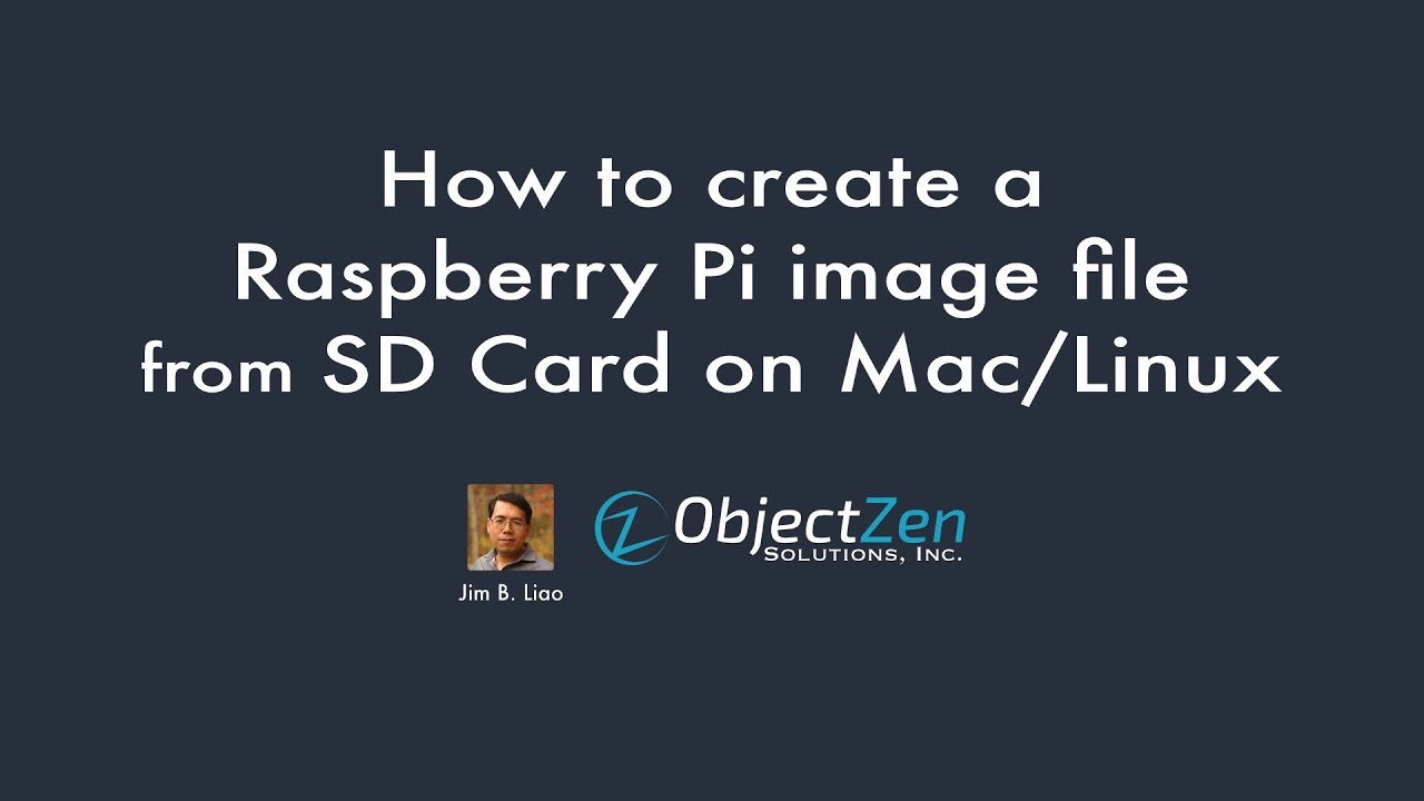 How to create an image from a Raspberry Pi SD Card