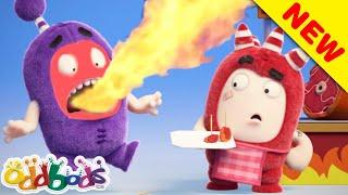 ODDBODS   Best Street Food 02   Cartoons For Kids