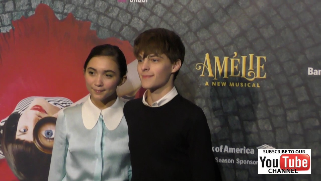 rowan blanchard and corey fogelmanis at the amelie a new