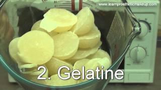 Coraline Button Eyes Makeup Part 4: Casting Appliances