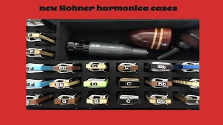 3 brand new Hohner harmonica cases
