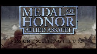 Medal of Honor: Allied Assault Walkthrough - Mission 2, HD Texture pack (1080p)