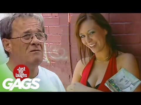 Sexy Prostitute Loses Her Money - Just For Laughs Gags