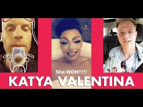Valentina on Miss Venezuela - Courtney Act Cheesy - Katya Zamolodchikova